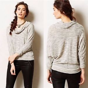 Anthropologie Porridge cowl neck sweater